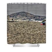 At The Beach At Pacifica Shower Curtain