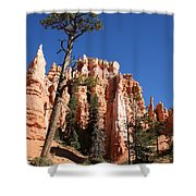 At The Bottom Of The Bryce Np Shower Curtain