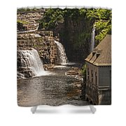 At The Falls In Ausable Ny Shower Curtain