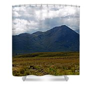 At The Foot Of The Mountain Shower Curtain