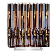 At The Ready Shower Curtain