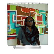 At The Retreat 4 Sale Shower Curtain