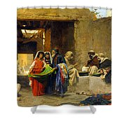At The Souk Shower Curtain