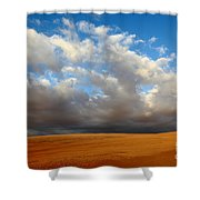 Clouds Over The Atacama Desert Chile Shower Curtain