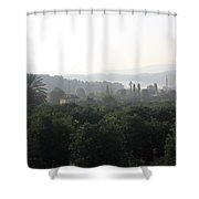 Atakoy Landscape Shower Curtain
