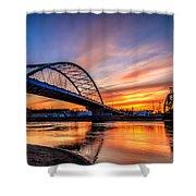 Atchison Sunset Shower Curtain