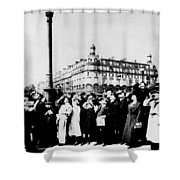 Atget Eclipse, 1912 Shower Curtain