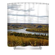 Athabasca Fall Shower Curtain