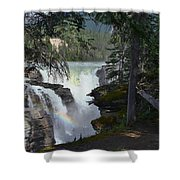 Athabasca Falls 2 Shower Curtain