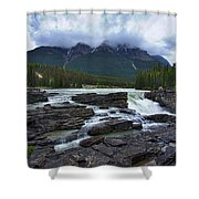 Athabasca Falls #3 Shower Curtain