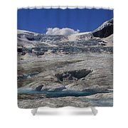 Athabasca Glacier 1 Shower Curtain