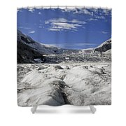 Athabasca Glacier Shower Curtain