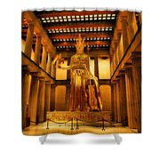 Athena Parthenos Shower Curtain