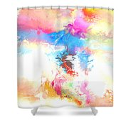 Athena Parthenos Shower Curtain