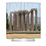 Athens 1 Shower Curtain