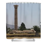 Athens 2 Shower Curtain