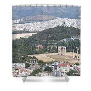 Athens 3 Shower Curtain