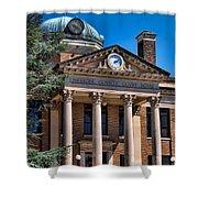 Athens Alabama Historical Courthouse Shower Curtain