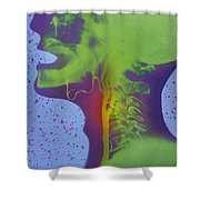 Atherosclerosis Shower Curtain