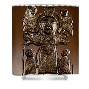 Athlone Crucifixion Shower Curtain