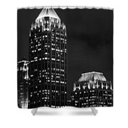 Atlanta At Night  Shower Curtain