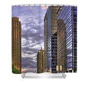 Atlanta 17th Street Atlantic Station Shower Curtain