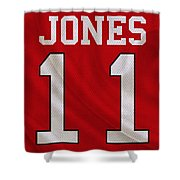 Atlanta Falcons Julio Jones Shower Curtain