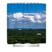 Atlanta From High Shower Curtain