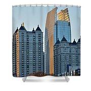 Atlanta Towers Shower Curtain