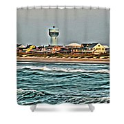 Atlantic Beach Shower Curtain