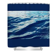 Atlantic Blue Shower Curtain