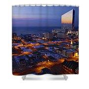 Atlantic City At Dawn Shower Curtain