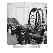 Atlantic City, C1902 Shower Curtain