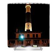 Atlantic City Lighthouse Shower Curtain
