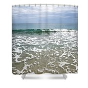 Atlantic Ocean Surf Shower Curtain