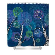 Atlantis Arbor Shower Curtain