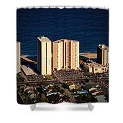 Atlantis Condominium Ocean City Md Shower Curtain