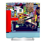 Atomic Bomb Of Purity 1a Shower Curtain