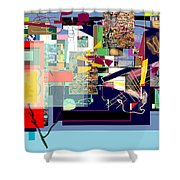 Atomic Bomb Of Purity 1b Shower Curtain