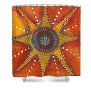 Atomic Peace Shower Curtain