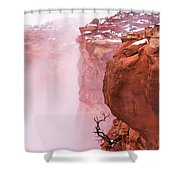 Atop Canyonlands Shower Curtain by Chad Dutson