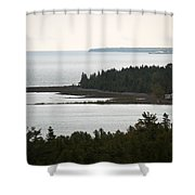 Atop The Lighthouse Shower Curtain
