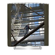 Atrium Art Shower Curtain