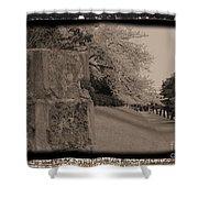 Atsugi Pillbox Walk  C Shower Curtain