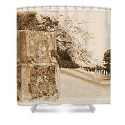 Atsugi Pillbox Walk  D Shower Curtain