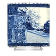 Atsugi Pillbox Walk  E Shower Curtain