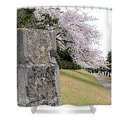 Atsugi Pillbox Walk Shower Curtain