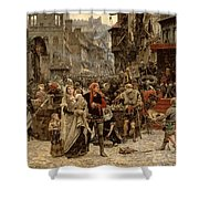 Atterdag Holding Visby To Ransom 1361 Shower Curtain