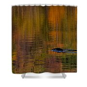 Atumn Reflections Shower Curtain