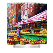 Atwater Market   Shower Curtain